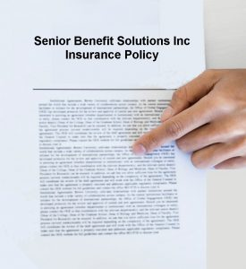 About Senior Benefit Solutions Inc